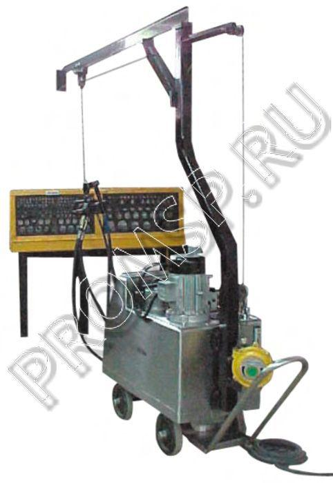 Система гидравлическая для развальцовки труб