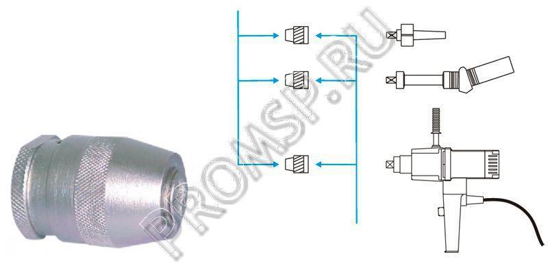 Быстросменный зажимной патрон для электропривода