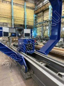 Экстрактор трубных пучков Idrojet S.R.L. Пучки до 85 тонн. Электродвигатель