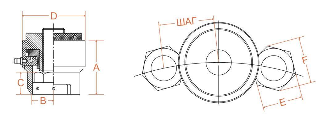 Тензорные домкраты стандартной серии LC